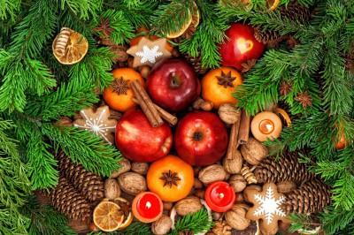 gezond eten met kerst
