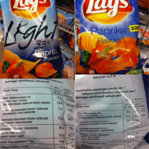 light chips lays