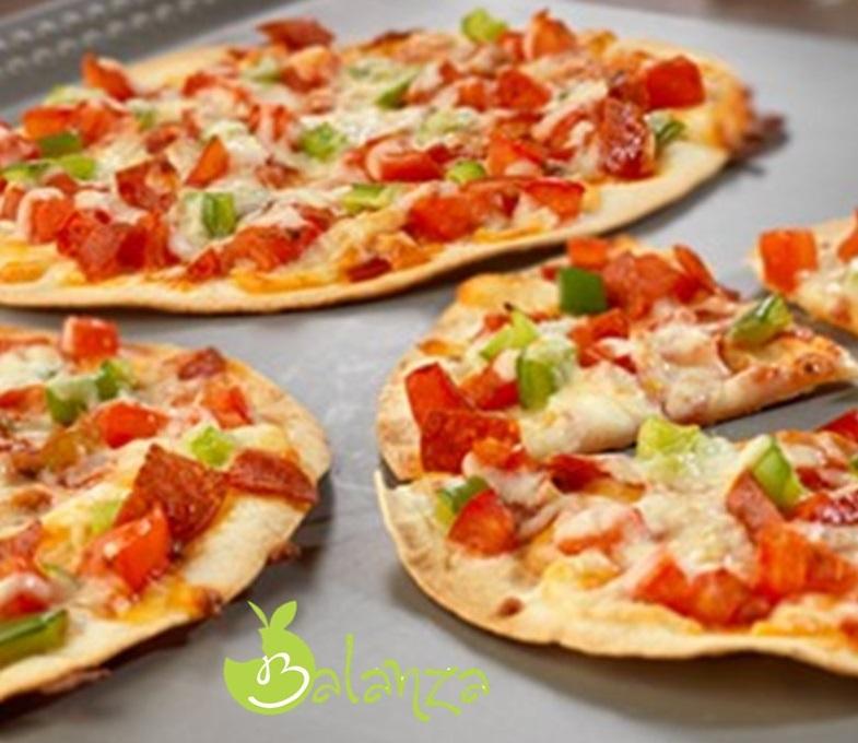 gezonde pizza hawai groente