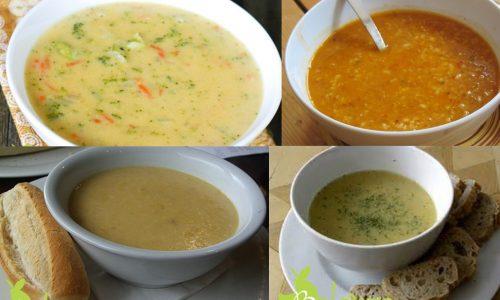 zelfgemaakte gezonde soepen