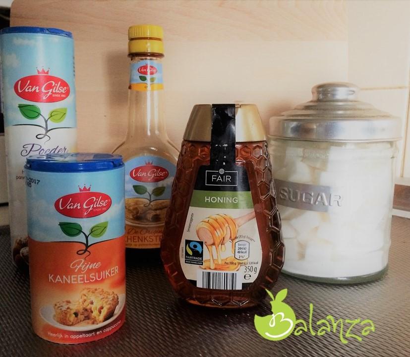 suiker producten