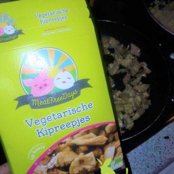 vegetarische kipreepjes