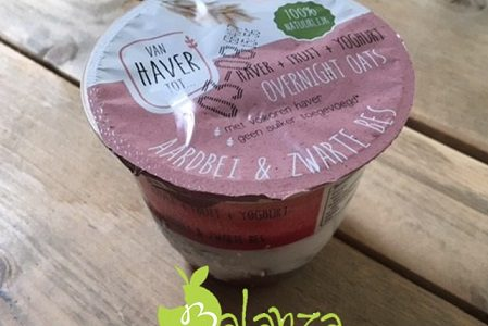 Review: van Haver tot…… Overnight oats met yoghurt en fruit