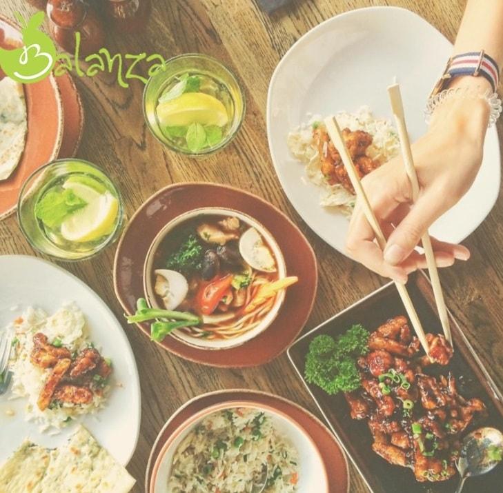 tips afvallen uit eten