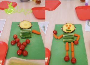 kind groenten