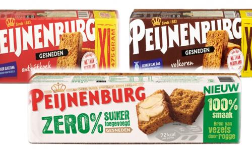 Ontbijtkoek van peijnenburg verpakking