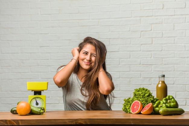 gezond eten en niet afvallen