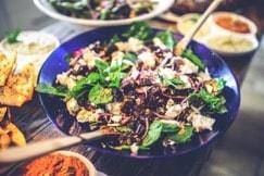 stel je eigen salade samen