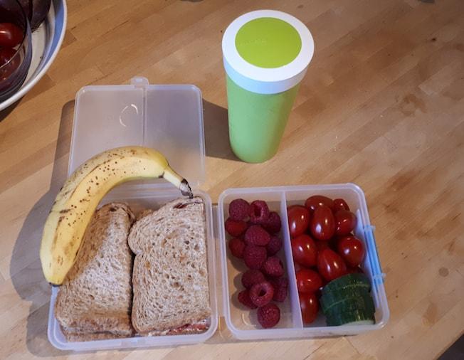 Lunchbox van de diëtist