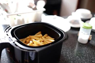 is eten uit de airfryer gezond