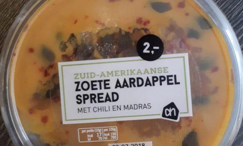 zoete aardappelspread