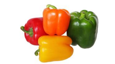 Waarin verschillen de groene, gele en rode paprika